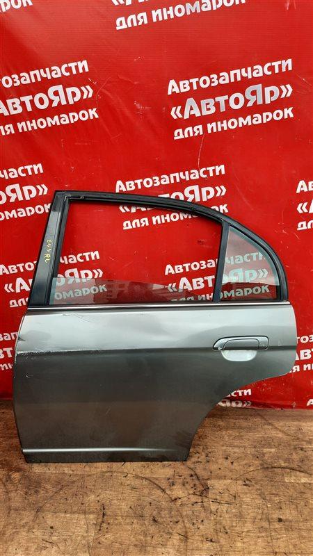 Стекло боковое Honda Civic Ferio ES3 D17A 2005 заднее левое Опускное