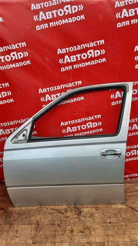 Дверь боковая Toyota Vista Ardeo ZZV50G 1ZZ-FE 04.2002 передняя левая в сборе