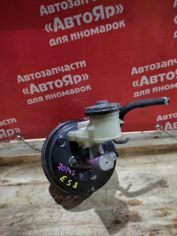 Главный тормозной цилиндр Honda Civic Ferio ES3 D17A 2005 цена без вакуумника, ГТЦ со штоком