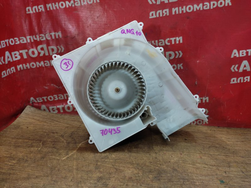 Вентилятор (мотор отопителя) Nissan Bluebird Sylphy QNG10 QG18DE 02.2004 + датчик 27470 cx800
