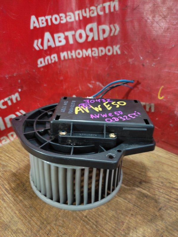 Вентилятор (мотор отопителя) Nissan Elgrand AVWE50 QD32ETI 12.1997