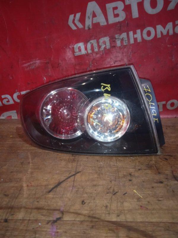 Стоп-сигнал Mazda Axela BK5P ZY-VE 05.2006 задний левый P6340