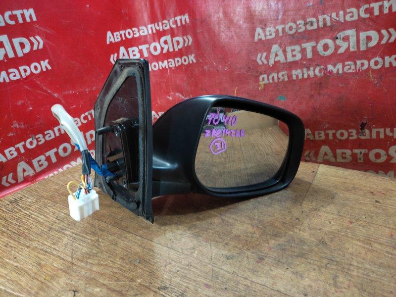Зеркало Toyota Corolla Fielder ZRE142G 2ZR-FE 11.2006 переднее правое 1 фишка, 9 конт