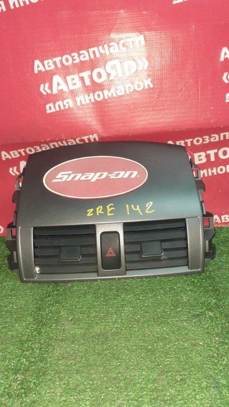 Дефлектор воздушный Toyota Corolla Fielder ZRE142G 2ZR-FE 11.2006 55663-12120 состояние на фото