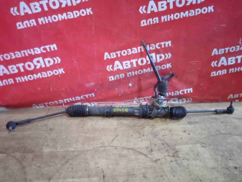 Рулевая рейка Nissan Elgrand AVWE50 QD32ETI 12.1997 49001 VE000 / 49001 VE001, дефект пыльника, без клапана.