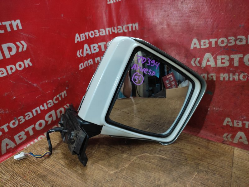Зеркало Nissan Elgrand AVWE50 QD32ETI 12.1997 переднее правое 5 конт., хром