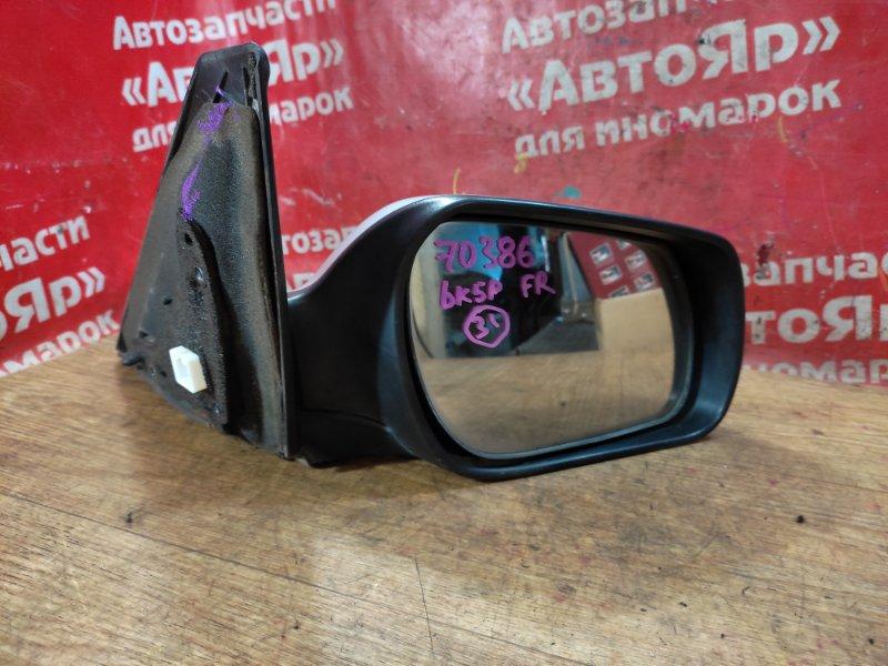 Зеркало Mazda Axela BK5P ZY-VE 05.2006 переднее правое дефект 1 крепления, 5 конт