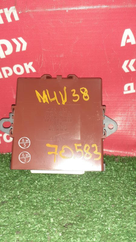 Блок управления Toyota Harrier MHU38W 3MZ-FE 06.2006 89670-48010/ комфортом