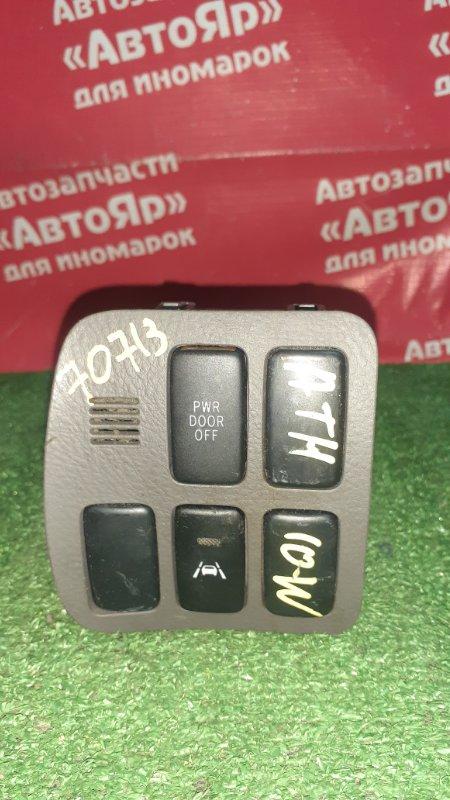 Кнопки в салон Toyota Alphard ATH10W 2AZ-FXE 04.2004 3 заглушки, 2 кнопки. 55447-58010