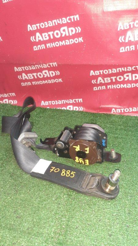 Ремень безопасности Honda Partner EY8 D16A 2001 передний правый Без патрона, темно серый.