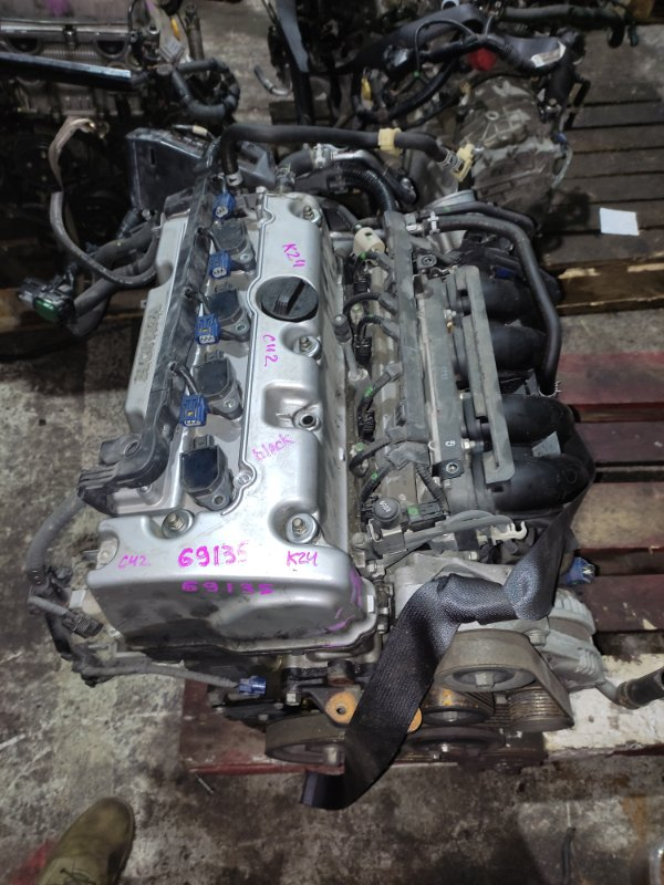 Заслонка дроссельная Honda Accord CU2 K24A 2008 Электро, 16400-RL5-A01