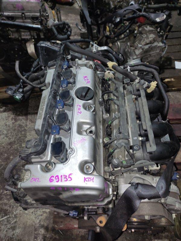Форсунка Honda Accord CU2 K24A 2008 Комплект 4шт. с рампой 16450-R40-A01