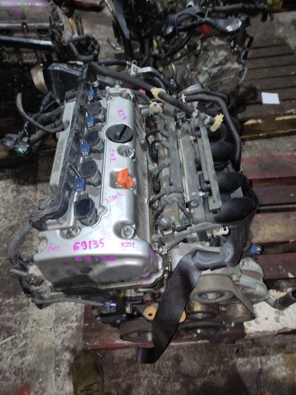 Ролик натяжной Honda Accord CU2 K24A 2008 С натяжителем.