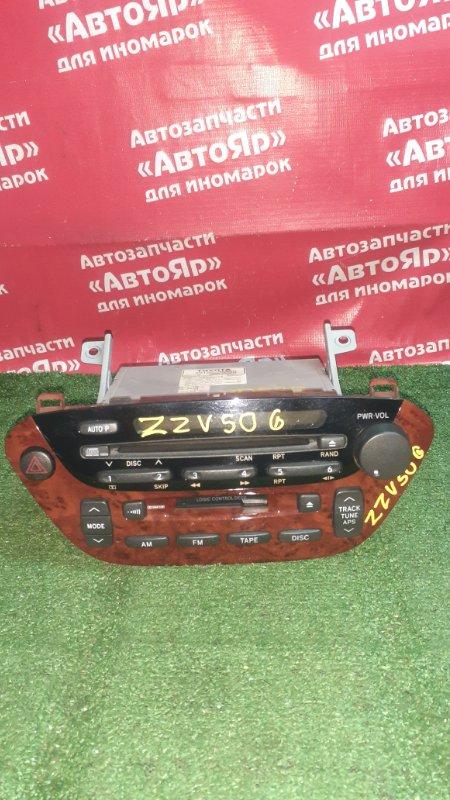 Магнитола Toyota Vista Ardeo ZZV50G 1ZZ-FE 04.2002 86120-32550