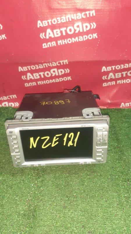 Магнитола Toyota Corolla NZE121 1NZ-FE 01.2002 08545-00B31, AVIC-XD8267
