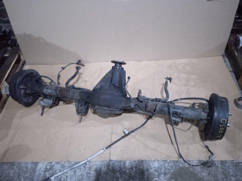 Мост Nissan Elgrand AVWE50 QD32ETI 12.1997 49/12=4.083 цена за голый, без колодок и тормозного механизма,