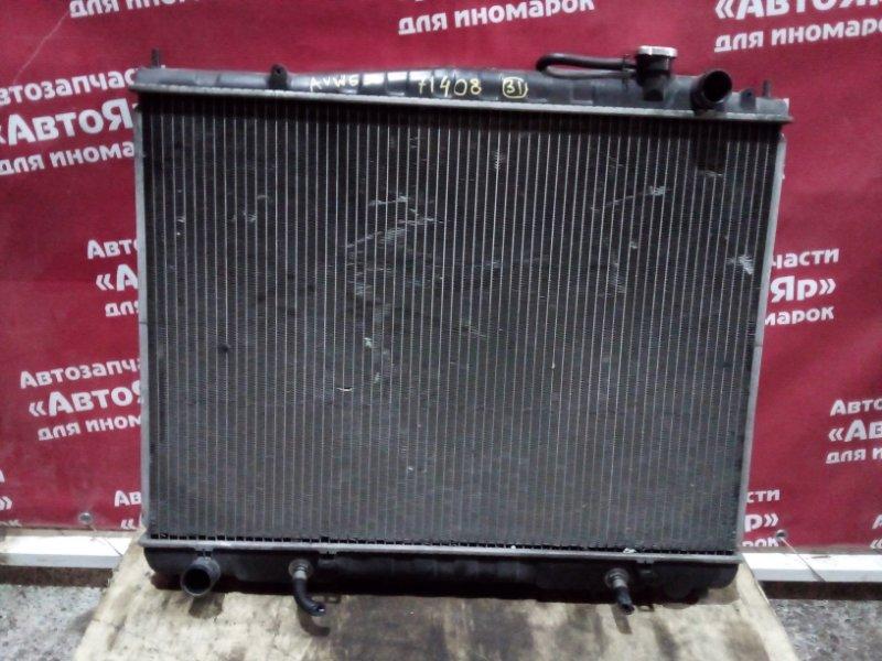 Радиатор основной Nissan Elgrand AVWE50 QD32ETI 12.1997 Дефект на фотографиях.