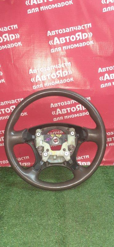 Руль Honda Civic Ferio ES3 D17A 2005 Кожа, дефект на фото