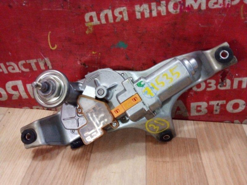 Механизм стеклоочистителя Honda Accord CU2 K24A 2008 задний