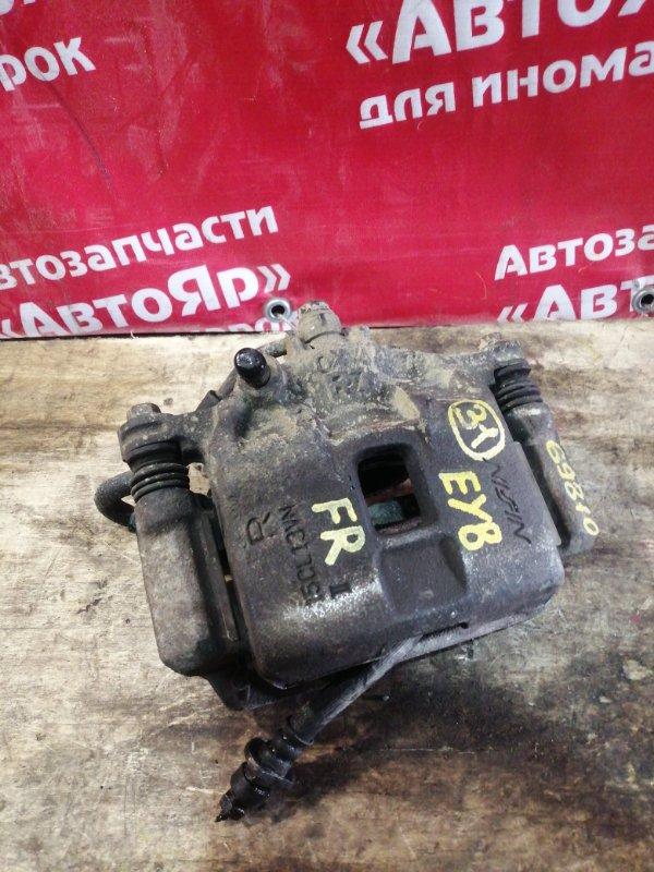Суппорт тормозной Honda Partner EY8 D16A 2001 передний правый