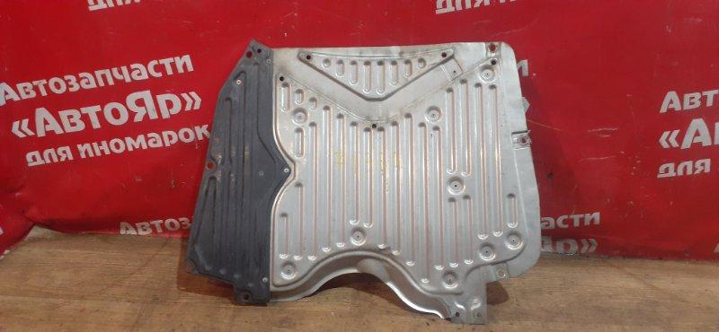 Защита двигателя Honda Accord CU2 K24A 2009 передняя Цельная, металическая.