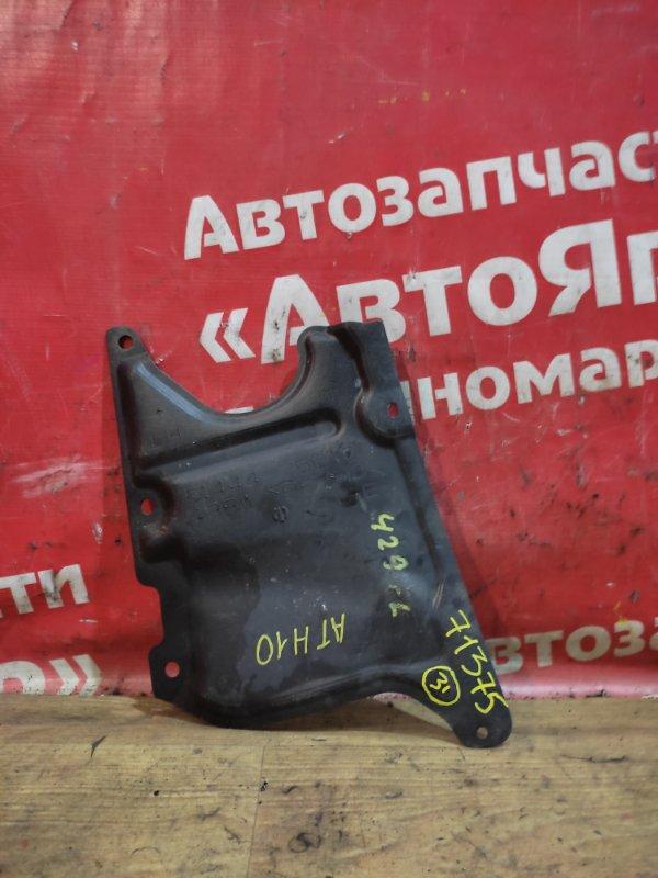 Защита двигателя Toyota Alphard ATH10W 2AZ-FXE 04.2004 передняя левая Боковая, 51444-75010