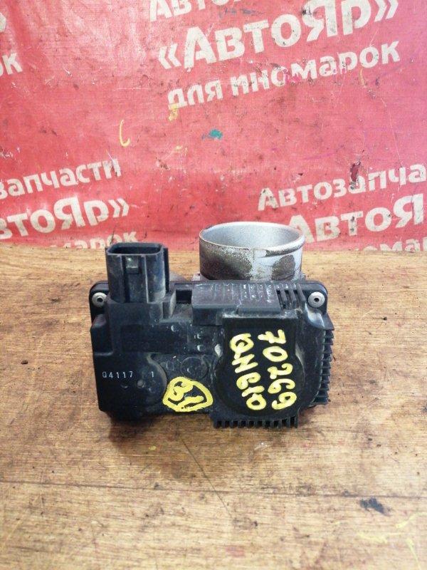 Заслонка дроссельная Nissan Bluebird Sylphy QNG10 QG18DE 02.2004 Электро, 16119 AU003 / 16119 AU00A