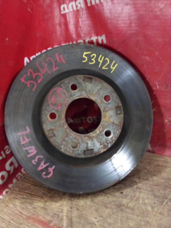 Диск тормозной Mitsubishi Asx GA3W 4B10 03.2011 передний левый