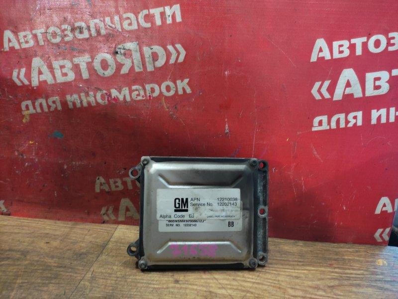 Блок управления efi Subaru Traviq XM220 Z22 2002 12210038. 12202143