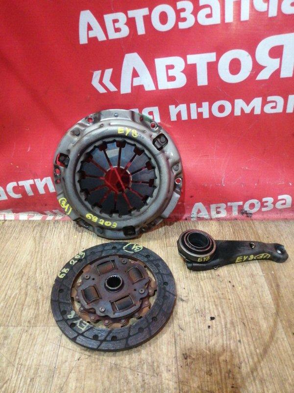 Корзина сцепления Honda Partner EY8 D16A 2001 Корзина, диск, выжимной. ДИСК на 200мм
