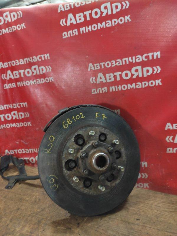Ступица Nissan Terrano Regulus JTR50 ZD30DDTI 10.1999 передняя правая цена с диском, датчик abs не снимается.