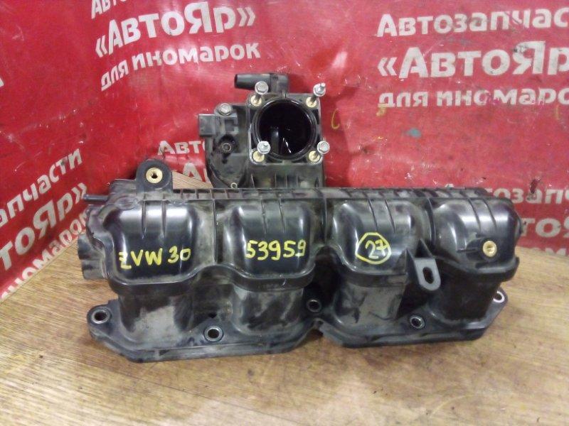Коллектор впускной Toyota Prius ZVW30 2ZR-FXE 04.2009