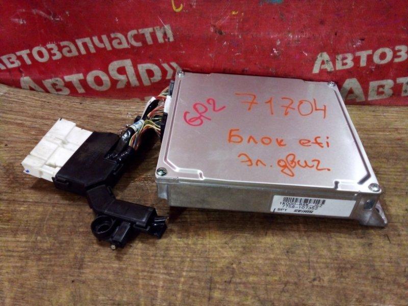 Блок управления efi Honda Fit Shuttle GP2 LDA 2011 1K000-R8K-J52 , блок управления электронным