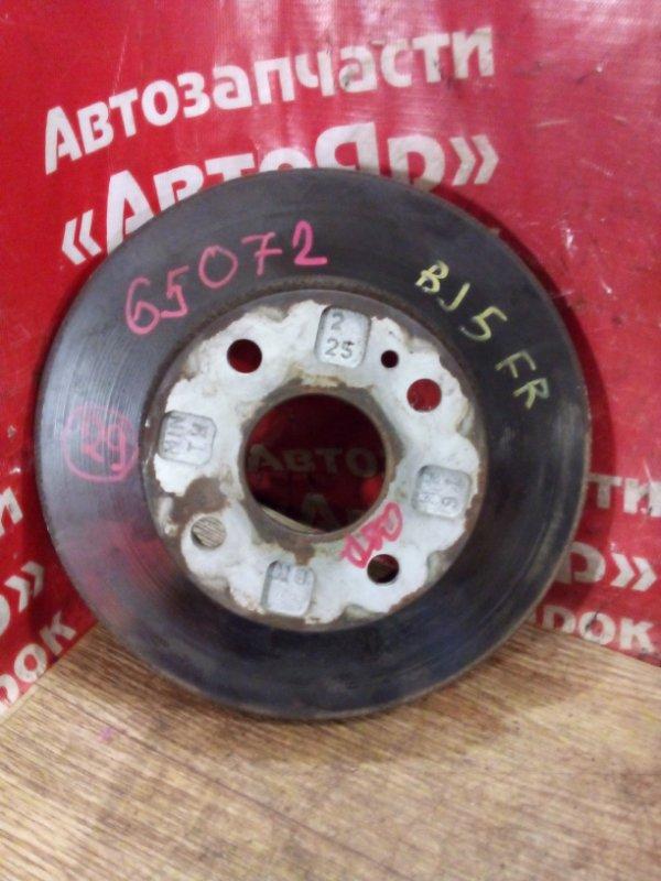 Диск тормозной Mazda Familia BJ5W ZL-DE 10.2002 передний правый Диаметр 234мм.