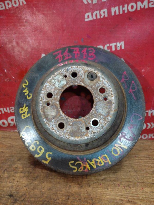 Диск тормозной Honda Accord CU2 K24A 12.2008 задний правый