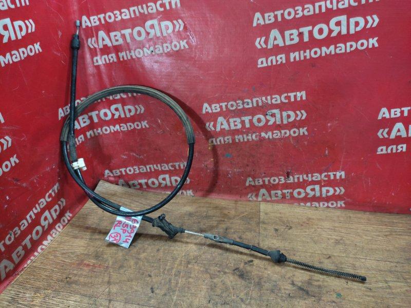 Тросик ручника Mazda Axela BK5P ZY-VE 05.2006 задний левый Дефект клипсы