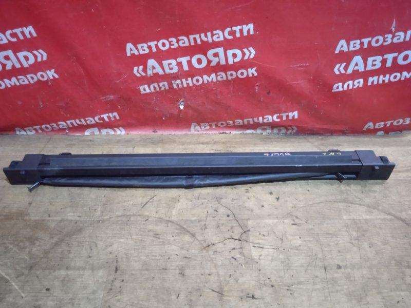 Шторка багажника Honda Accord CU2 K24A 2009 сетка черная. универсал