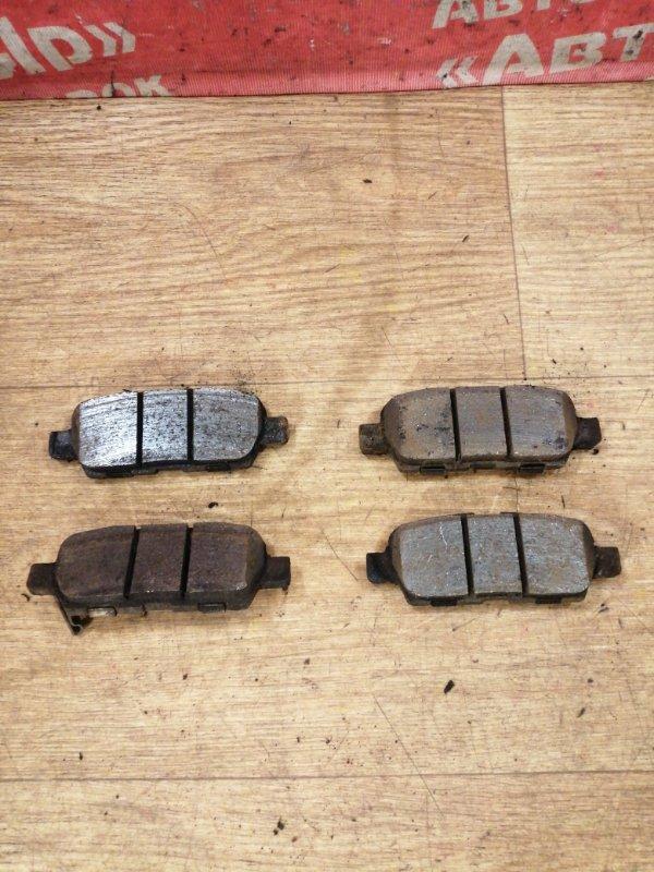 Тормозные колодки Nissan X-Trail TNT31 QR25DE 10.2007 заднее