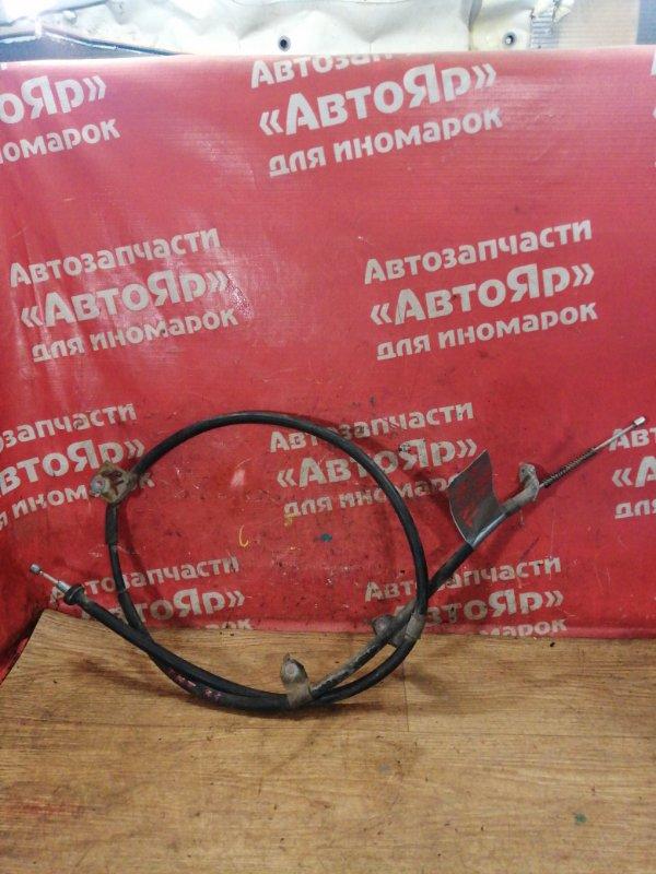 Тросик ручника Nissan X-Trail TNT31 QR25DE 10.2007 задний левый