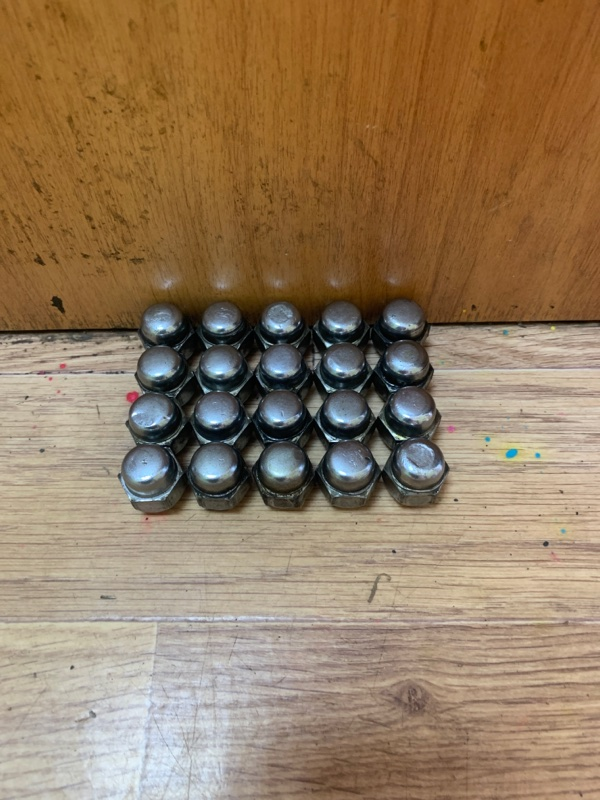 Гайка колесная 20 штук, 21 ключ, 12x1,25
