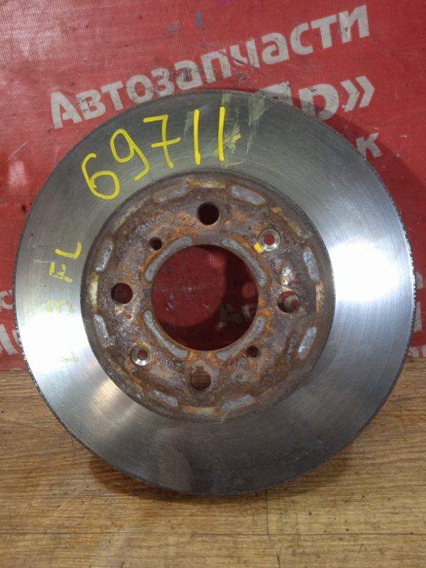 Диск тормозной Honda Civic Ferio ES3 D17A 2005 передний левый