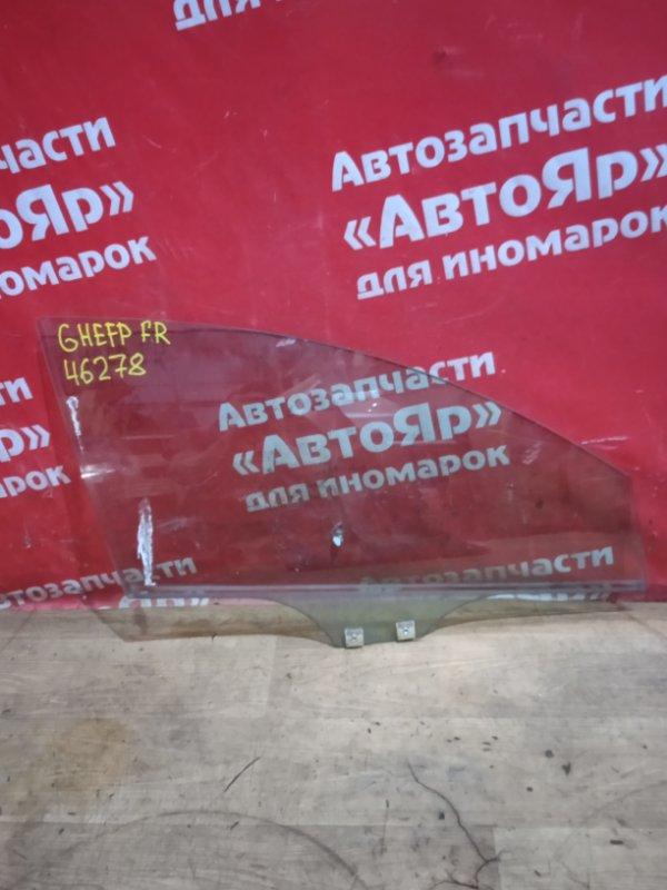 Стекло боковое Mazda Atenza GHEFP LF-VD 2011 переднее правое
