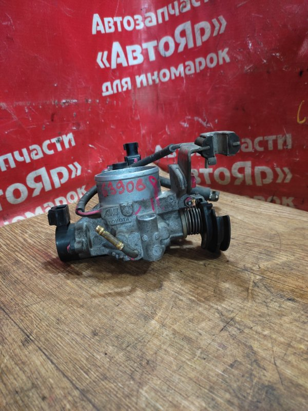 Заслонка дроссельная Toyota Liteace Noah KR52V 7K-E 07.2005 ДХХ 22270-06020 / 22270-13020, ДПЗ 89452-0A010 / 89452-33030.