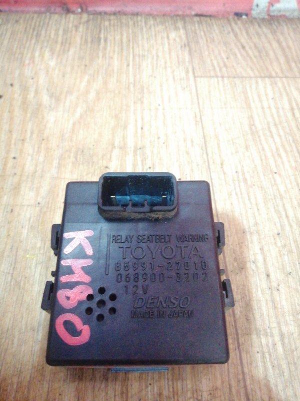 Электронный блок Toyota Liteace KM80 7K-E 1999 85991-27010, Реле, ремень безопасности.