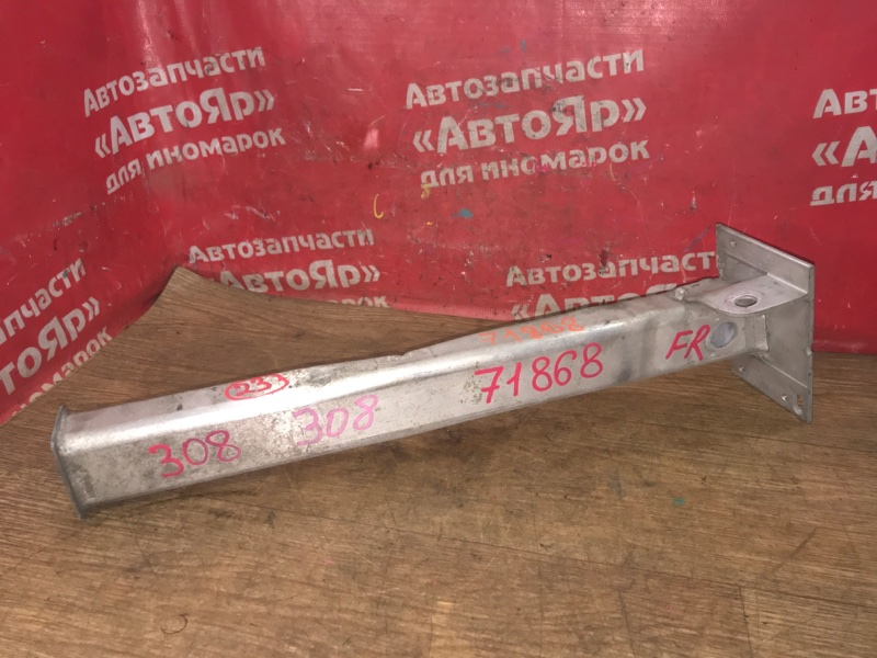 Крепление балки подвески Peugeot 308 EP6CDT 2010 переднее правое 9677054880