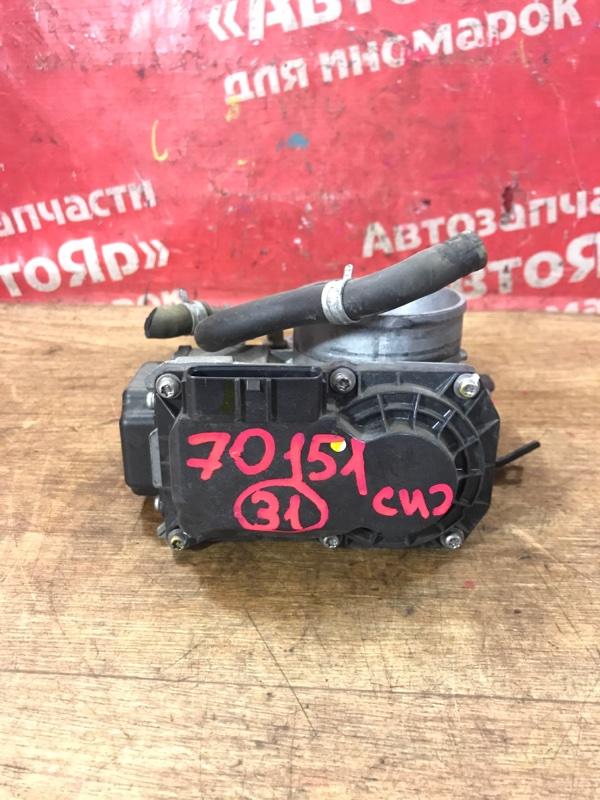 Заслонка дроссельная Honda Accord CU2 K24A 2009 Электро, 16400-RL5-A01.