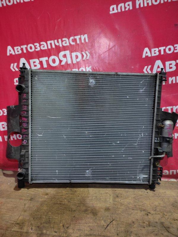 Радиатор основной Mercedes Ml270 W163 OM612.963 2000