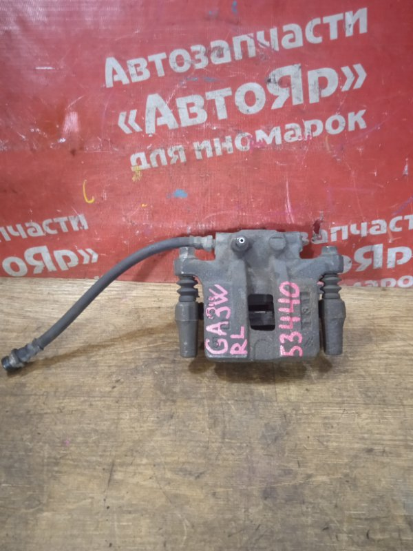 Суппорт тормозной Mitsubishi Asx GA3W 4B10 03.2011 задний левый