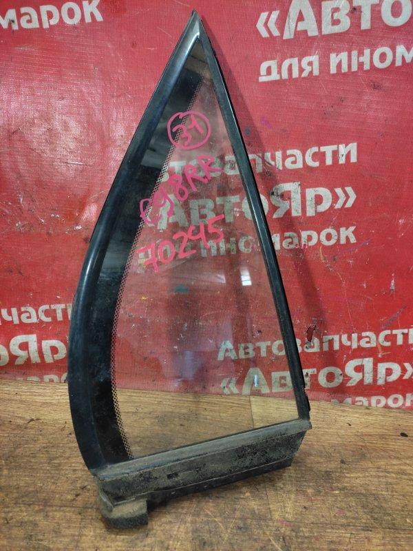 Стекло боковое Honda Partner EY8 D16A 2001 заднее правое форточка
