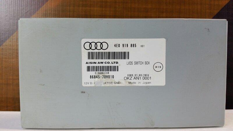 Блок навигации Audi A6 C6 AUK 2005